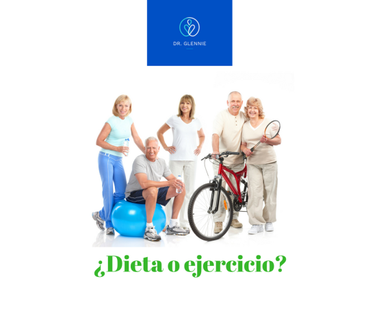 dieta o ejercicio