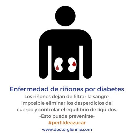 Enfermedad de riñones por diabetes